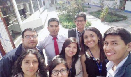 ESTUDIANTES DE METEOROLOGÍA PRESENTAN PROYECTOS