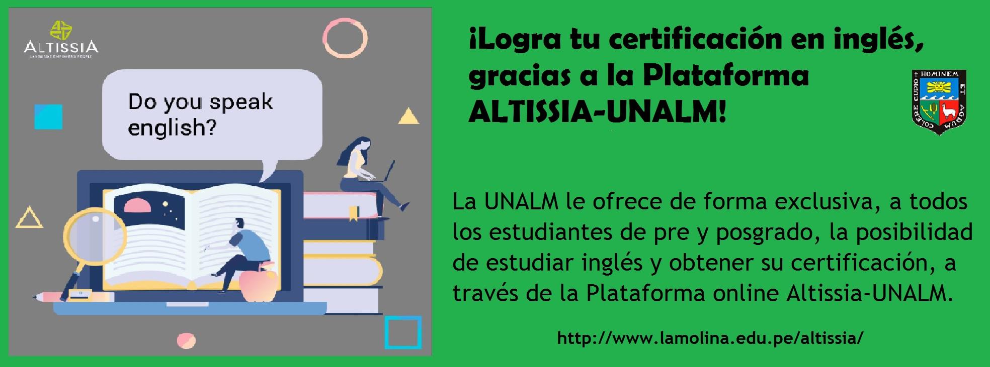 ALTISSIA-UNALM